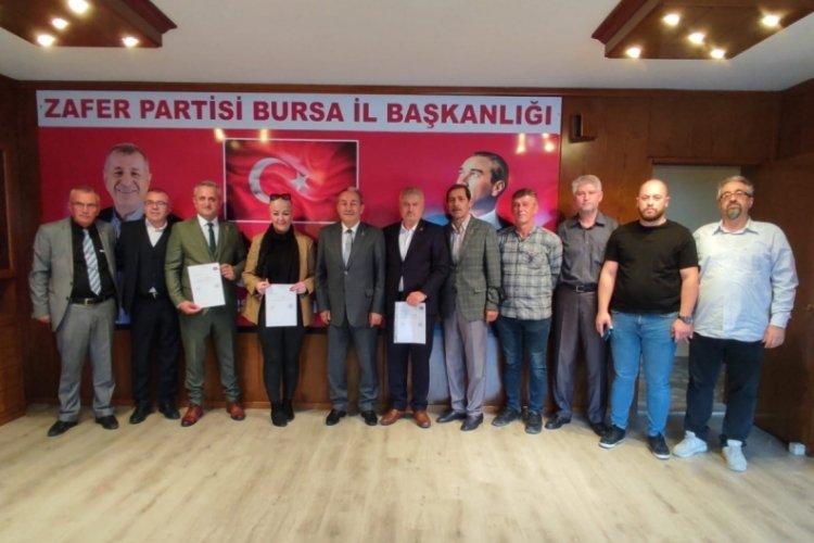 Bursa'da Zafer atağa geçti! 3 ilçeye jet atama