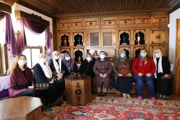 Eskişehirli kadın çiftçiler Bursa'da