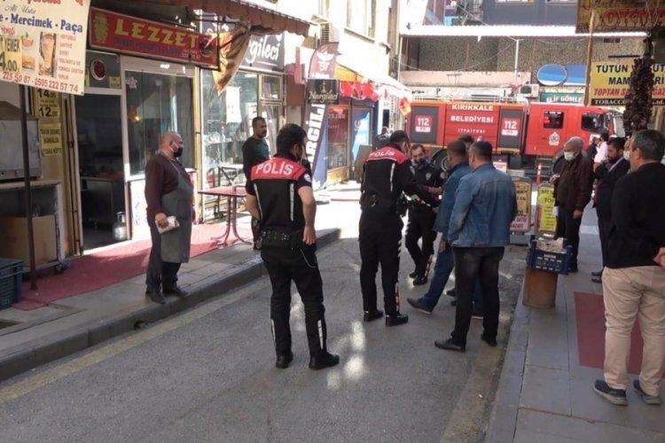 Kırıkkkale'de 3 kişi önce kavga ettiler, ardından kahvehaneyi ateşe verdiler