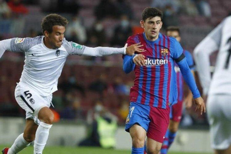 Barcelona'da oynayan Yusuf Demir, Türkiye forması giyme hakkını kaybetti