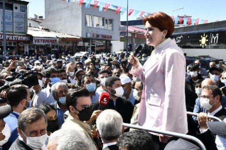 Meral Akşener, Cumhurbaşkanı Erdoğan'a seslendi: Gelip burada da türkü söyleyebilir misin?