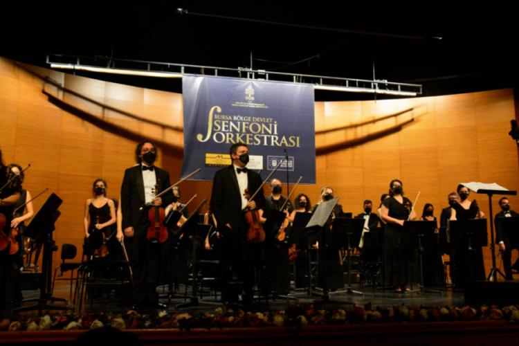 Bursa Bölge Devlet Senfoni Orkestrası, anma konseri düzenledi