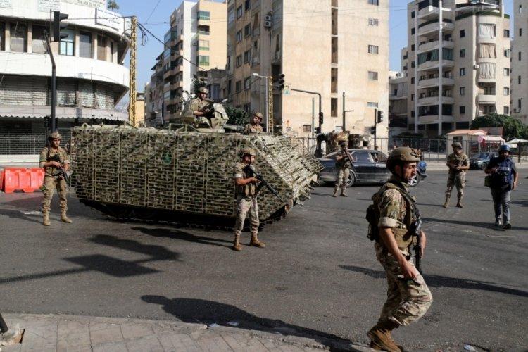 Lübnan'daki çatışmalarda 9 kişi gözaltına alındı