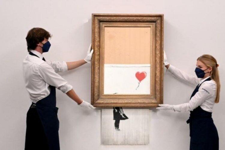 Banksy'nin eseri, yine rekor fiyata alıcı buldu