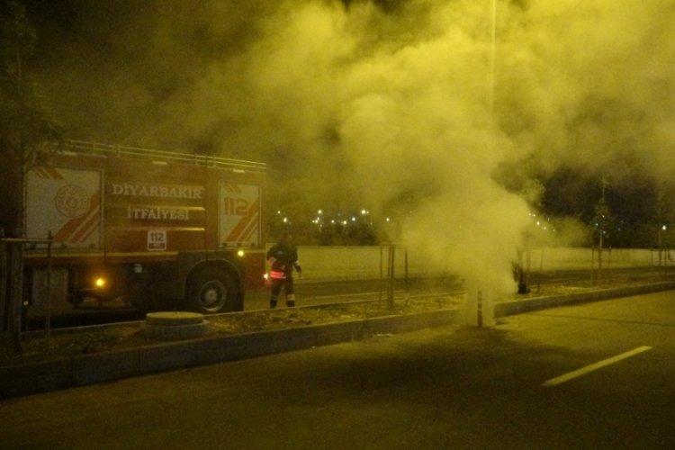 Diyarbakır'da esrarengiz duman panik yarattı