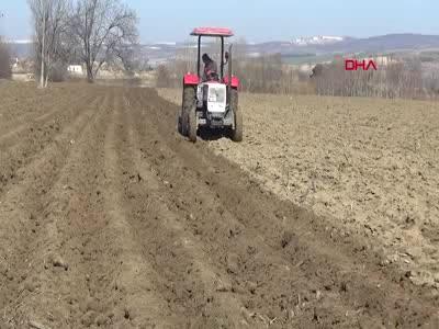 Bursa İnegöllü çiftçiler, patatese yöneldi