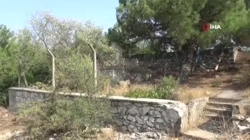5 yaşındaki minik Eymen'in cansız bedeni bu çukurda bulundu