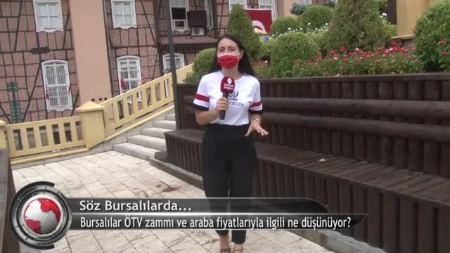 Bursalılar ÖTV zammı ve araba fiyatlarıyla ilgili ne düşünüyor? (ÖZEL HABER)