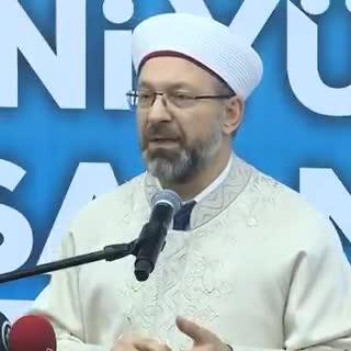 Ali Erbaş: En çok istismar edilen unsurlardan biri dindir