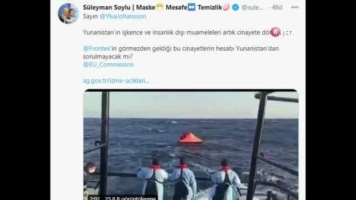Bakan Soylu o videoyu paylaşıp Avrupa'ya seslendi