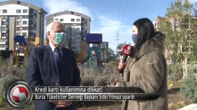 Bursalılar pandemi döneminde kredi kartı kullanımına dikkat! (ÖZEL HABER)
