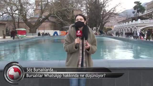 Bursalılar WhatsApp hakkında ne düşünüyor? (ÖZEL HABER)