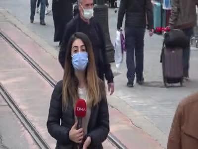 Bursa'da, cadde ve meydanlardaki kalabalık tedirginlik yarattı