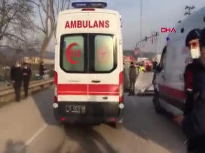 Bursa'da katliam gibi kaza!