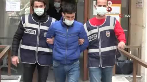 Bursa'da otomobilinde uyuşturucu bulunan sürücü, kız arkadaşını bırakıp kaçtı
