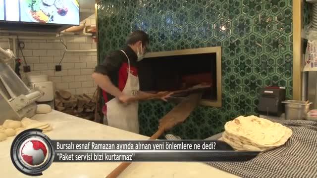 "Bursalı esnaf dertli! ""Paket servis kurtarmıyor"" (ÖZEL HABER)"