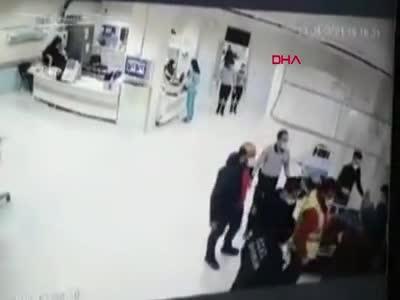 Hasta yakınları hastaneyi birbirine kattı: 8 gözaltı