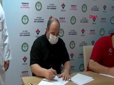 Bakan Varank aşı gönüllüsü oldu
