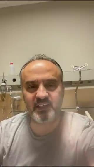 Bursa Büyükşehir Belediye Başkanı Aktaş'tan sağlık durumuyla ilgili açıklama