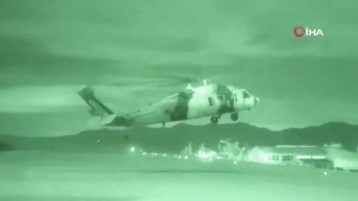 MSB, Pençe-Şimşek operasyonundan görüntüler paylaştı