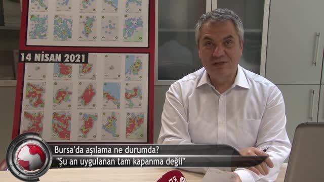 """""""Özellikle aşılama oranı Bursa'da çok düşük"""" (ÖZEL HABER)"""