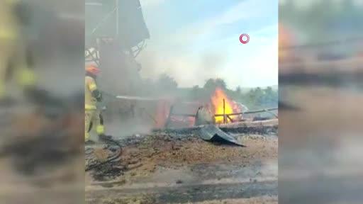 Bursa Mudanya'da peş peşe çıkan yangınlar korkuttu