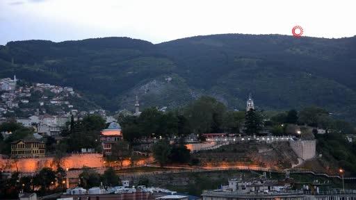 Bursa'da tophane surlarından iftar topu