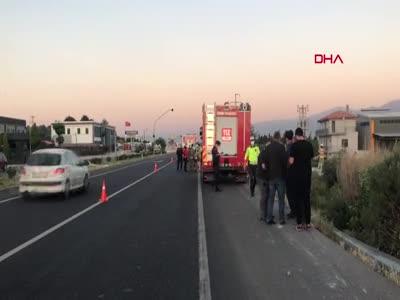 İzmir'de ölümlü TIR kazası
