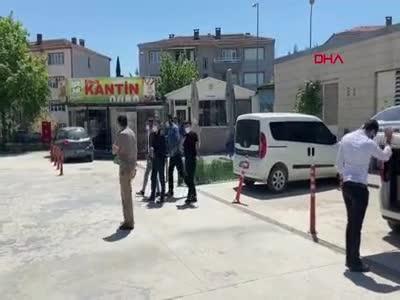 Bursa'da kısıtlama uyarısı yapan polislere saldıran 3 şüpheli adliyede