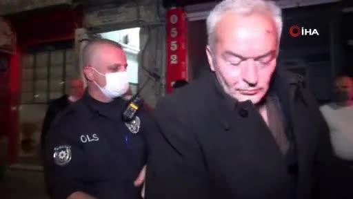 Bursa'da 1 saat içinde aynı apartmana iki kez saldırdı! Camları kırdı