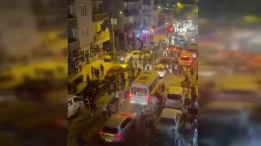 Bursa'da taraftarlar sokağa çıktı, tedbirler unutuldu