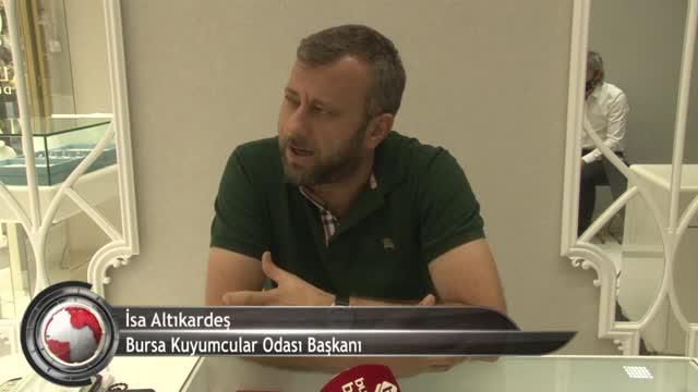 Bursalıların yeni gözdesi altın kaplamalı gümüş hakkında dikkat çeken açıklama! (ÖZEL HABER)