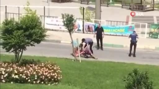 Bursa Gemlik'te polise saldıran şüpheli kıskıvrak yakalandı