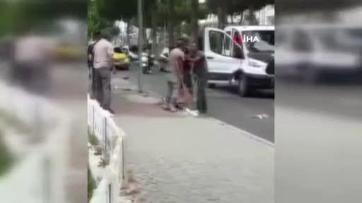 Piknik tüplü sokak kavgası!