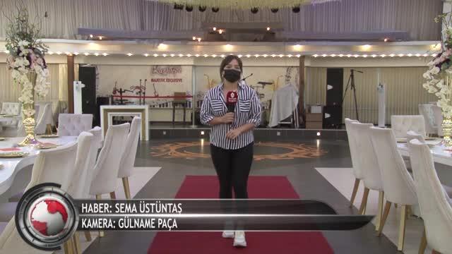 Bursa'da düğün işletmecileri dertli! ''Genelge eksik'' (ÖZEL HABER)