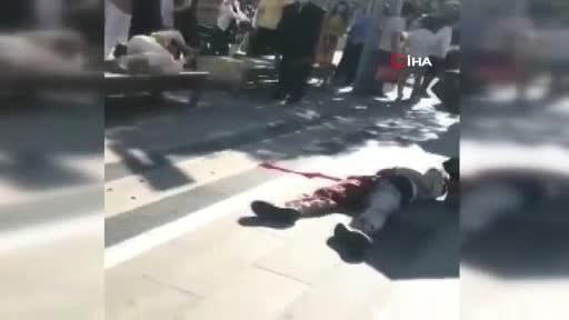 Çin'de sokak ortasında bıçaklı dehşet! 5 ölü 15 yaralı