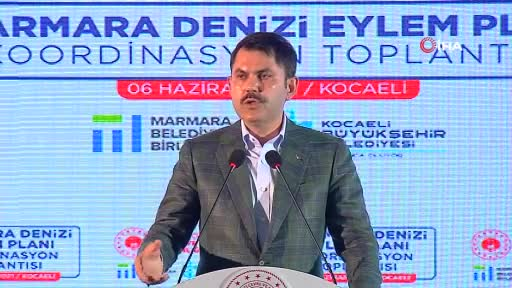 Bakan Kurum müsilajla mücadele için eylem planını açıkladı