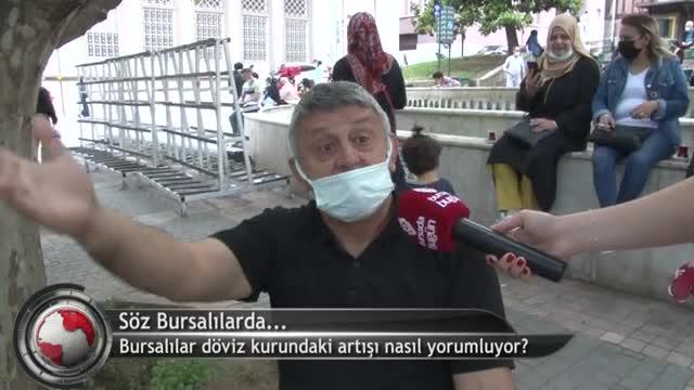 Bursalılar döviz kurundaki artışı nasıl yorumluyor? (ÖZEL HABER)