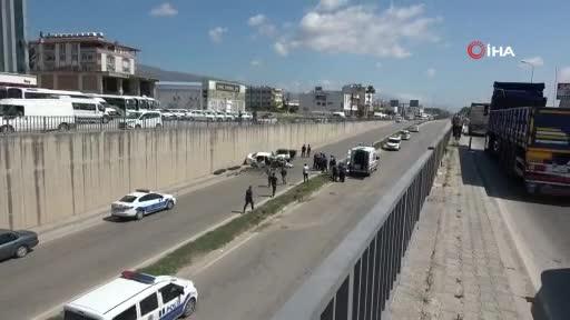Hatay'da feci kaza: 4 ölü, 3 yaralı!