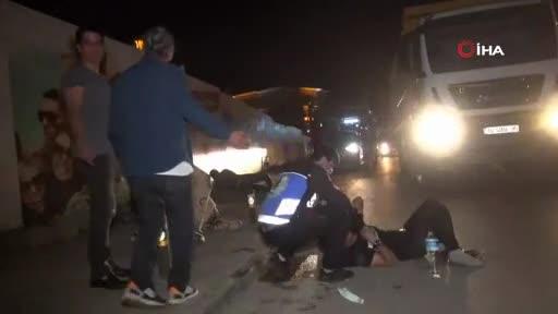Bursa'da aşırı sürat kazası: 3 kişi ağır yaralandı