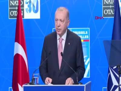 Cumhurbaşkanı Erdoğan: S-400'ler için düşüncemiz değişmedi Biden'a ilettim