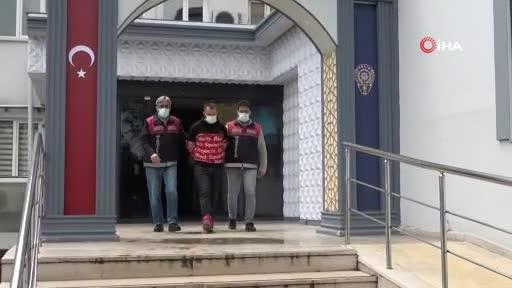 Bursa'da bir hafta önce cezaevinden çıktı, sabah dükkan akşam banka soydu
