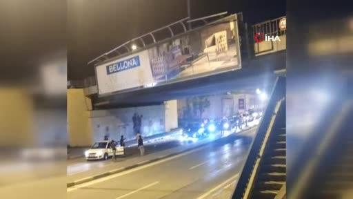 Bursa'da asker uğurlamasında yol kapatıp havaya ateş açtılar!