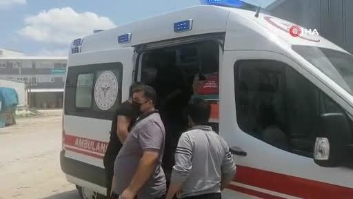 Bursa'da tamirci tırın altında kaldı