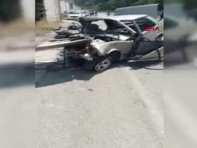Babalar Günü'nde babasını trafik kazasında kaybetti