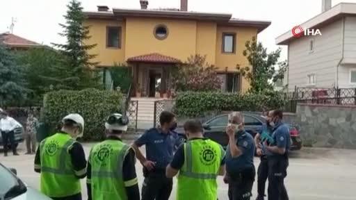 Bursa'da villada patlama! 1 yaralı var