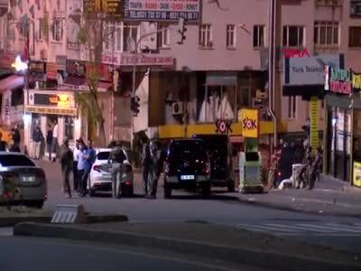 Polis kontrol noktasına ateş açıldı