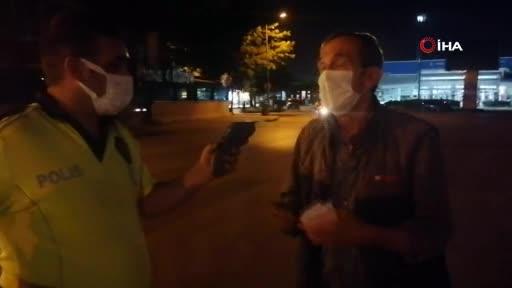 Bursa'da alkollü sürücü zor anlar yaşattı