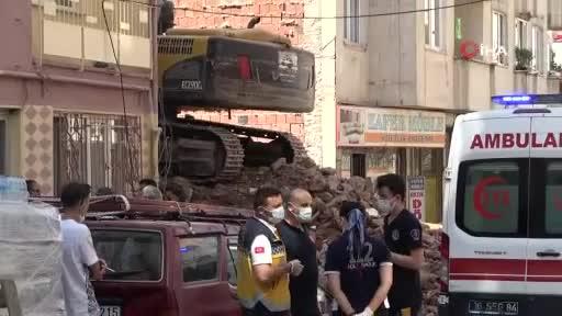 Bursa'da yıkım çalışmasında feci şekilde can verdi!