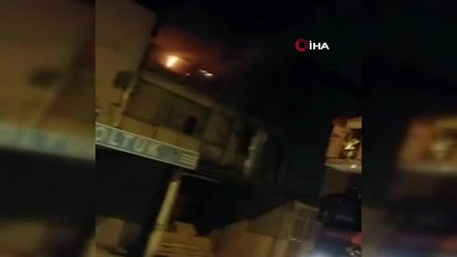 Bursa İnegöl'de mobilya atölyesinde yangın